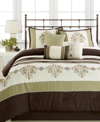 Marin 7-Pc. Queen Comforter Set