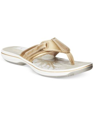 Image of Clarks Collection Women's Brinkley JoJo  Flip-Flop Sandals