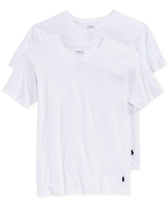 Polo Ralph Lauren Big Boys 2-Pk. Crew-Neck Undershirts