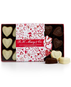R.h. Macy & Co. Valentine's Day Assorted Chocolate Heart Box