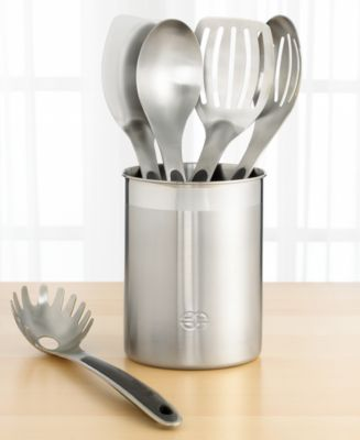Calphalon 6-Piece Utensil Set With Crock