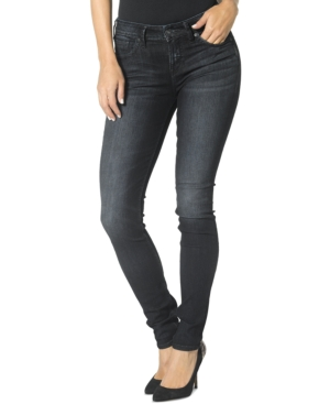 Silver Jeans Aiko Skinny Dark Blue Wash Jeans