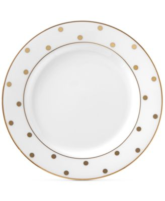 kate spade new york Larabee Road Gold Bone China Butter Plate