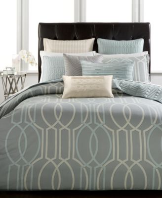 Hotel Collection Modern Interlace King Comforter, Only at Macy's