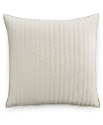 Hotel Collection Modern Eyelet Quilted European Sham, Only at Macy's