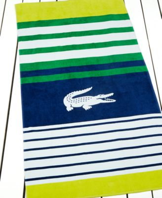 Lacoste Regate Beach Towel