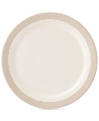 kate spade new york all in good taste Striped Dinner Plate