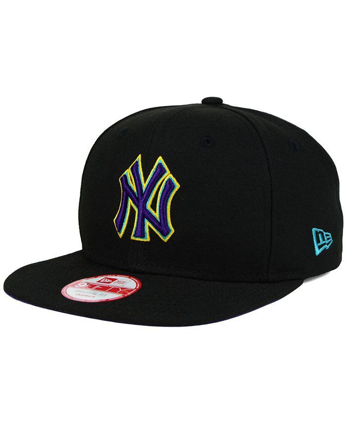 New Era - New York Yankees Aqua Hook Basic 9FIFTY Snapback Cap