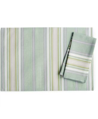 Lenox French Perle Stripe Collection Placemat