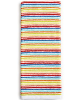 Fiesta Ribbed & Striped Kitchen Towel Collection Striped Towel