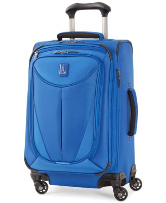 "Travelpro Walkabout 3 21"" Expandable Carry On Spinner Suitcase, Only at Macy's"