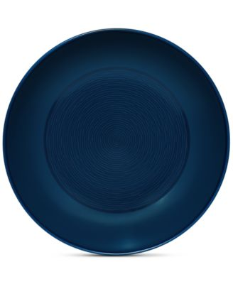 Noritake Navy-On-Navy Swirl Pasta Bowl