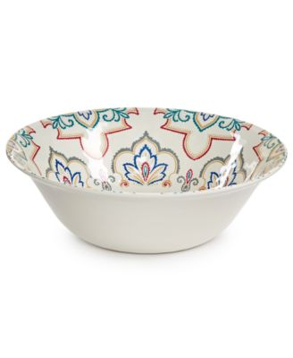 Home Design Studio La Villa Melamine Serveware Collection Serving Bowl, Only at Macy's