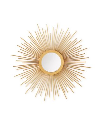 Home Design Studio Small Sunburst Mirror