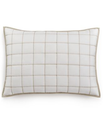 Hotel Collection Waffle Weave Quilted Standard Sham, Only at Macy's