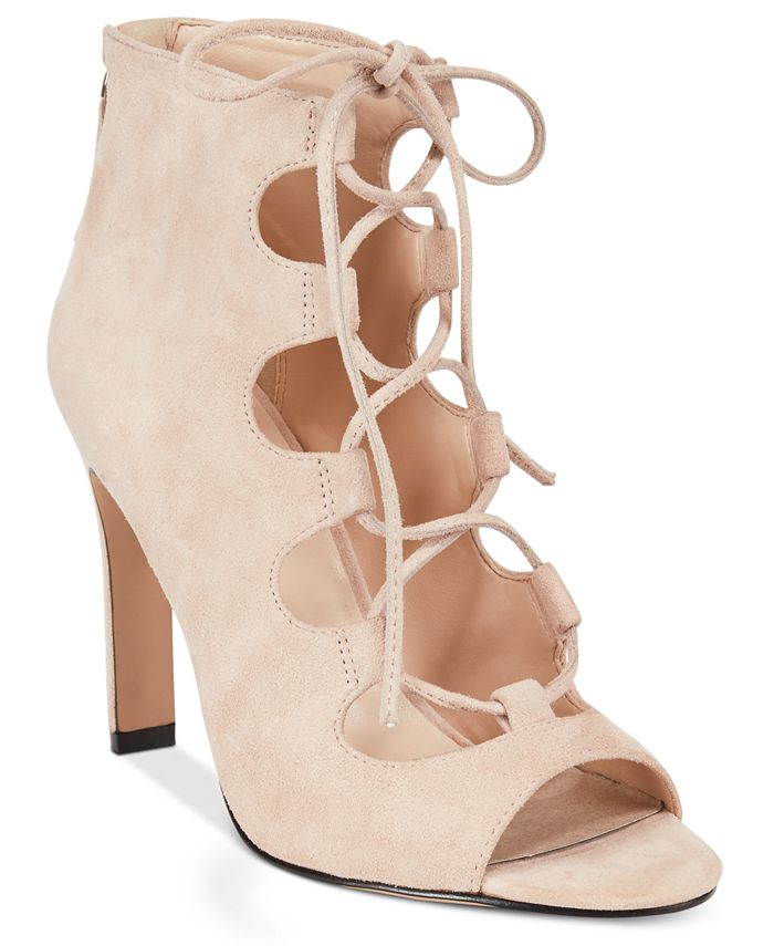 Nine West - Unfrgetabl Lace-Up Dress Sandals