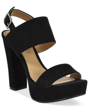 Report Lawren Two-Piece Platform Sandals Women's Shoes