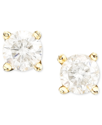 14k Gold Diamond Studs (1/3 ct. t.w.)