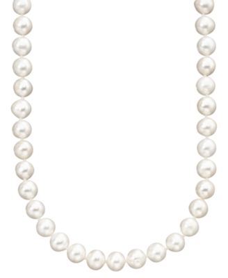 14k Gold Cultured Freshwater Pearl Necklace