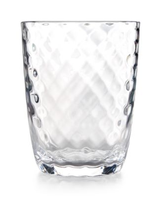 Home Design Studio Clear Acrylic Drinkware Collection Double Old-Fashioned Glass, Only at Macy's