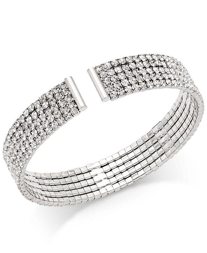 INC International Concepts INC Crystal Flex Bracelet, Created for Macy's
