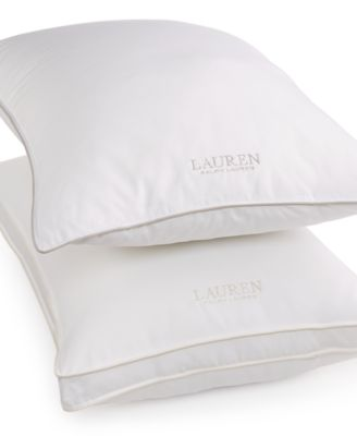 Lauren Ralph Lauren AAFA® Certified Hypoallergenic Extra-Firm Density Down-Alternative Standard/Queen Gusset Pillow