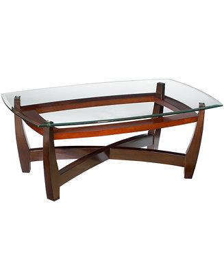 Furniture Elation Rectangular Coffee Table Reviews Furniture Macy S