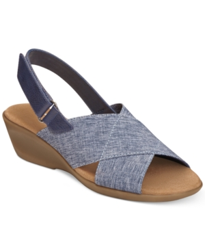 Aerosoles Badlands Wedge Sandals Women's Shoes