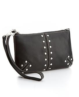 Macy*s - Women's - MICHAEL Michael Kors Astor Wristlet :  wristlet michael kors clutch bag