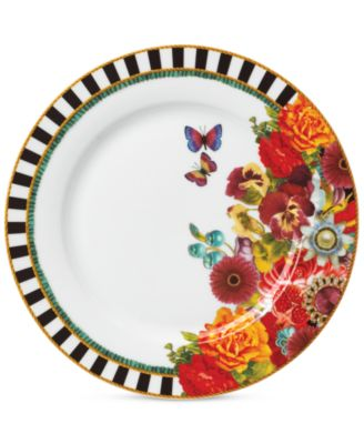 Lenox Melli Mello Eliza Stripe Collection Dinner Plate, Exclusively available at Macy's