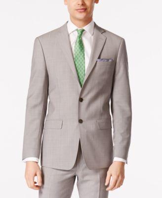 Men's Solid Classic-Fit Suit Jackets