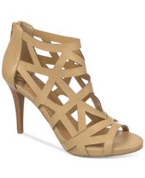 Fergalicious Histeria Caged Dress Sandals Women's Shoes