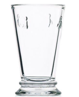 La Roch®re Glassware, Set of 6 Napoleonic Bee Highball Glasses