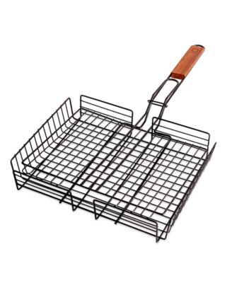 Martha Stewart Collection Rectangular Grilling Basket