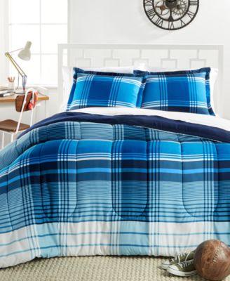 Chapman 3-Piece Reversible Plaid Full/Queen Comforter Set