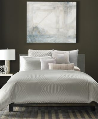 Hotel Collection Keystone King Duvet Cover, Only at Macy's
