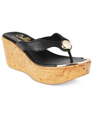 Callisto Belisima Wedge Sandals Women's Shoes