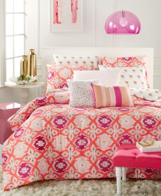 Whim by Martha Stewart Collection Desert Flower 4-Pc. Twin/Twin XL Comforter Set, Only at Macy's