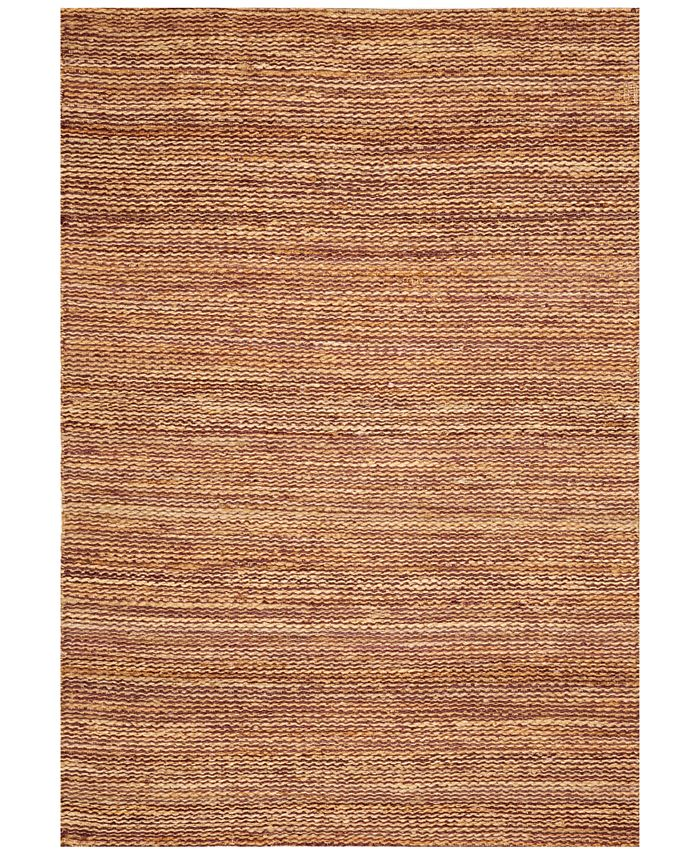 """D Style - Natural Jute Avocado 3'6"""" x 5'6"""" Area Rug"""