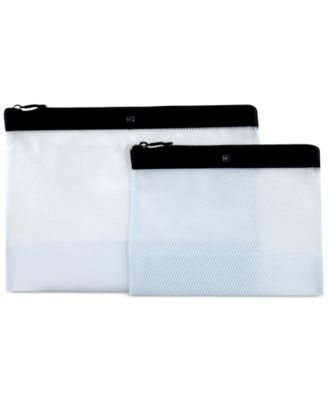 Victorinox Swiss Army Set of 2 Travel Spill-Resistant Pouches