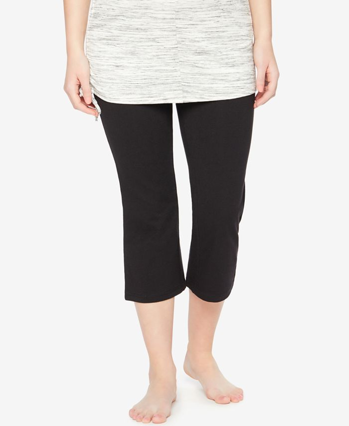 Motherhood Maternity - Cropped Active Pants