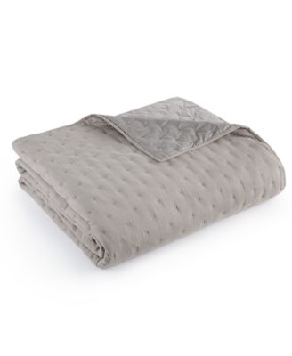 Hotel Collection Eclipse Quilted Full/Queen Coverlet, Only at Macy's