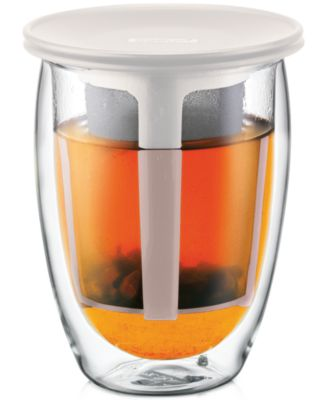 Bodum 12-Oz. Tea for One Glass with Strainer