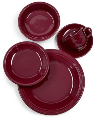 Fiesta Claret 5-Pc. Place Setting