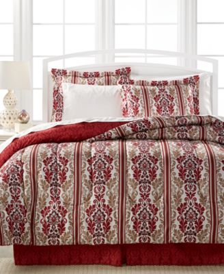 Hamilton 8-Pc. Queen Bedding Ensemble