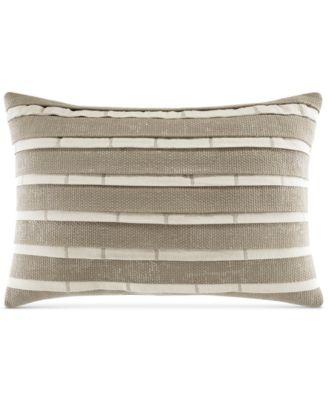 "Croscill Stuyvesant 18"" x 12"" Boudoir Decorative Pillow"