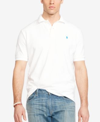 Polo Ralph Lauren Men\u0026#39;s Big and Tall Classic-Fit Mesh Polo Shirt