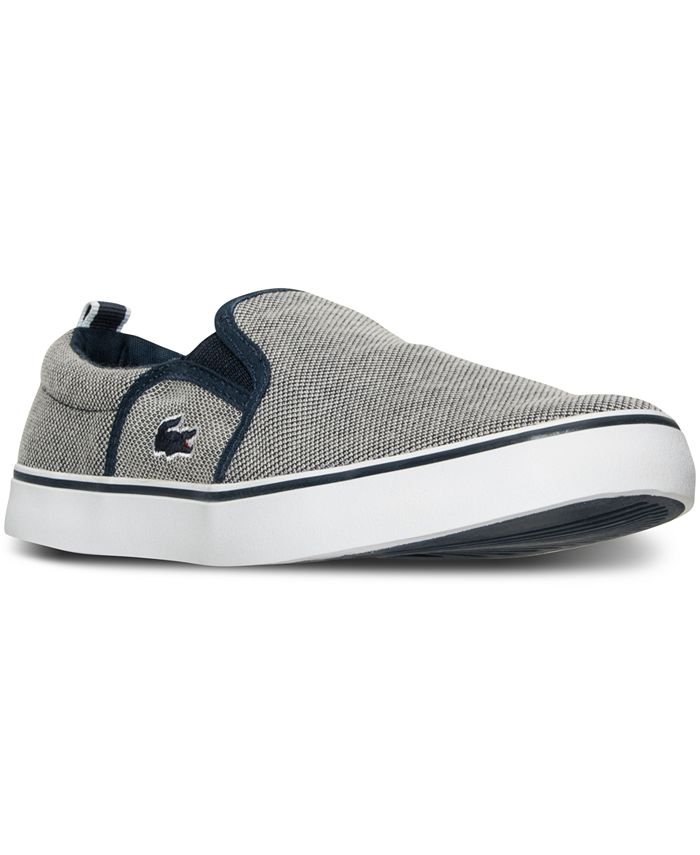 Lacoste - Boys' Gazon Slip Casual Sneakers from Finish Line