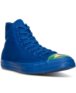 Converse Men's Chuck Taylor All Star Hi Flag Toe Cap Casual Sneakers from Finish Line