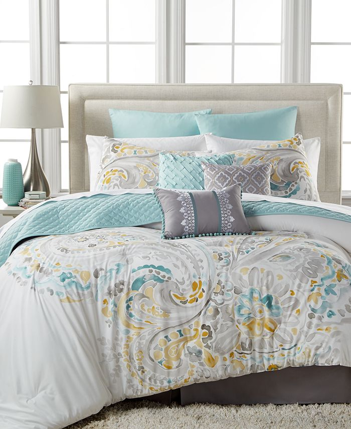 Baltic Linens - Sahar 10-Pc. Full Comforter Set